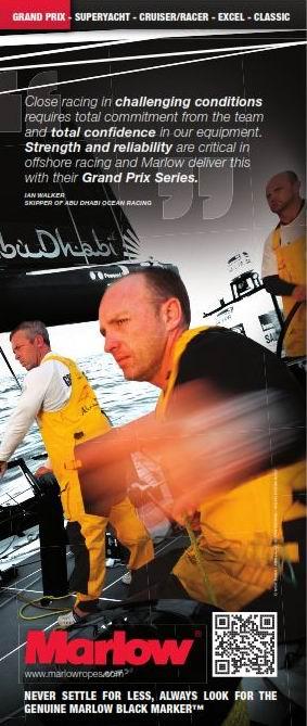 Marlow 绳索 升洋帆船设备 dyneema 帆船绳索 缆绳