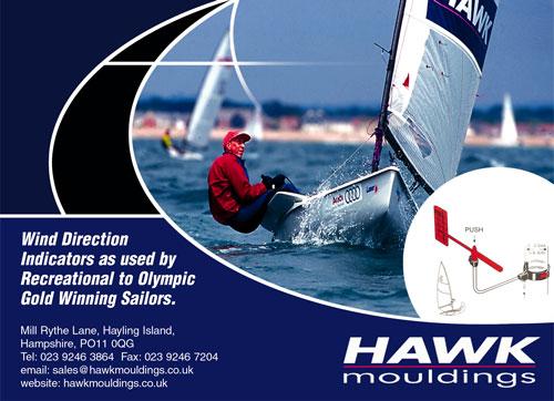 hawk 帆船 风向标