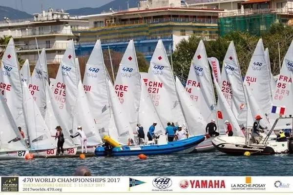升洋 中国男子帆船470